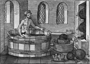 Illustration MSH Archimède Bain